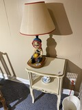 Raggedy Ann Lamp Plus lamp table