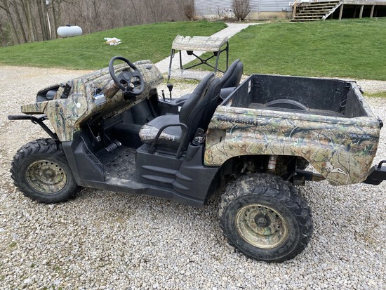 Camaro, Tractor, Kawasaki Teryx, RV, tools, etc