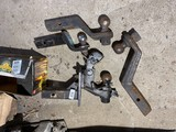Group lot of truck trailer hitches