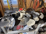 Group lot of 5 boat props propellers