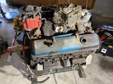 Chevy Engine on Stand Serial 3970010