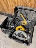 DeWalt Circular Saw + VSR Drill, Accessories