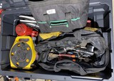 Assorted electrical tools and more