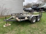 Dual Axle Utility Trailer or Car Carrier