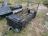 Snowmobile Utility Trailer and Skids