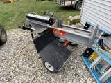 Nice Huskee 35 ton 16.5 hp Hydraulic Log Splitter