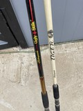 2 Trolling Fishing Rods - Shakespeare Ugly Stik and Tiger