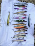 Large Lot of Great Lakes Trolling Fishing Lures