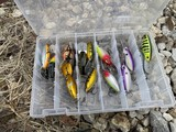 Lot of assorted fishing lures - Tots