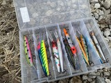 Lot of assorted fishing lures - Rapala etc