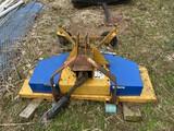 4' sidewinder finish mower
