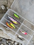 Lot of assorted fishing lures - Rapala, Storm etc