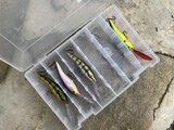 Lot of assorted fishing lures