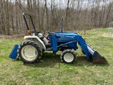 1988 Ford 1520 Diesel Tractor w/loader
