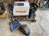 Hobart Welding Unit w/Tanks, Accessories