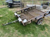 Vintage Small Sized Utility Trailer