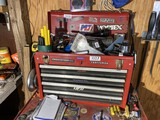 Metal tool box with drawers - No Contents