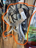Group Lot of Assorted Clamps