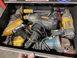 Drawer Lot of Heavy Duty Power Tools