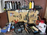 Items on and above workbench lot