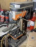 Smaller sized bench top drill press