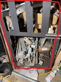 Scrap metal under bench lot - Bench not included