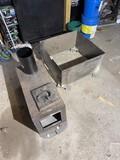 Heavy metal firepit, wood stove