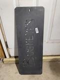 Metal Art Ohio State Buckeyes Sign