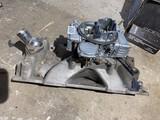 Holley Carburetor w/Edelbrock Intake