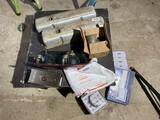 Group lot assorted auto parts, lights etc