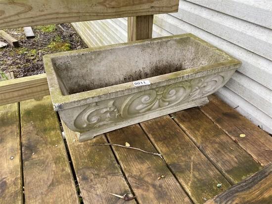 Nice Vintage Concrete Planter