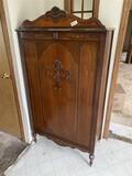 Antique c. 1930s Cedar Wardrobe Armoire