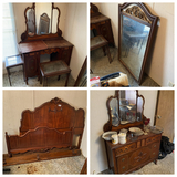 Group lot assorted 1930s Furniture