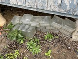 Group lot of security glass block PLUS