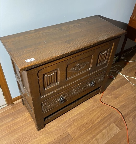 Arts and Crafts era Mule Chest Cabinet