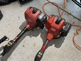 Pair of Toro weed whackers
