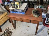 Antique desk or work table