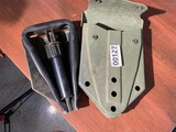 US Military Issue Trench Shovel in Case