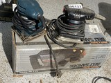Belt Sander in Box + Two Electric finishing sanders
