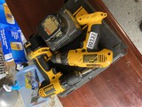 2 DeWalt Drills Plus Battery Charger lot