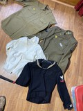 Group lot of WWII Uniforms