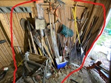 Large lot of assorted hand tools and more
