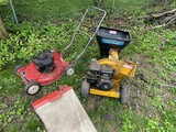 Cub Cadet Chipper PLUS Toro lawn mower