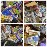 Large lot misc. office, toys, desk items etc
