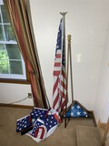 Flag Lot including 2 memorial cases