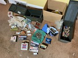 2 ammo cans plus large lot of assorted ammo
