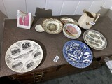 Wedgwood, other ceramic plates and items