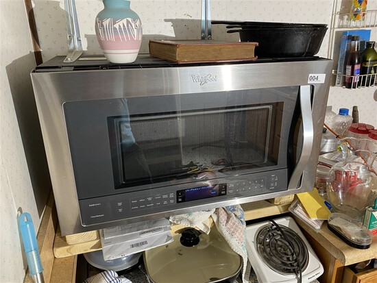 Nice Whirlpool Under Counter Microwave