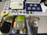 Large lot silver and other coins