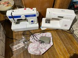 2 Newer Sewing Machines - Singer and White